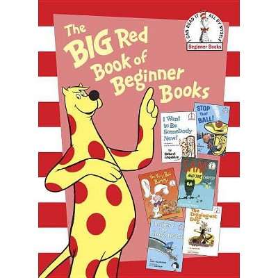 The Big Red Book of Beginner Books - Dr. Seuss - by DR SEUSS (Board Book)