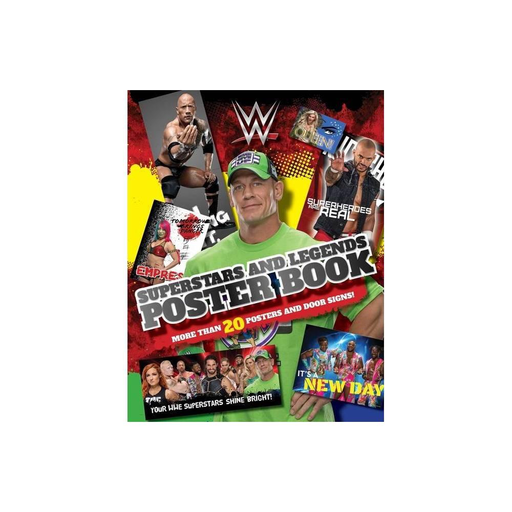 Wwe Superstars And Legends Poster Book Wwe Paperback