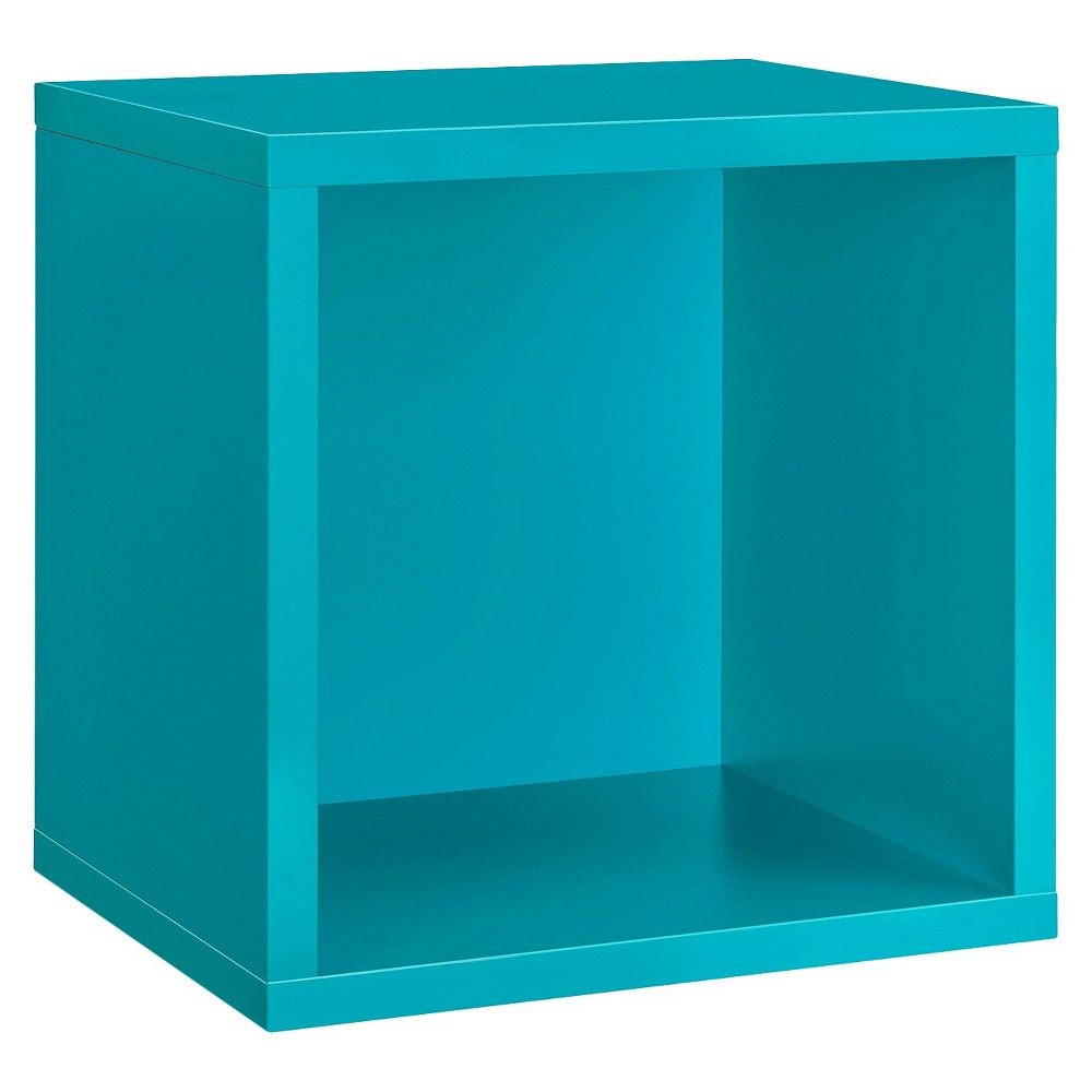 Dolle Shelving Wall Cube Shelf - Turquoise