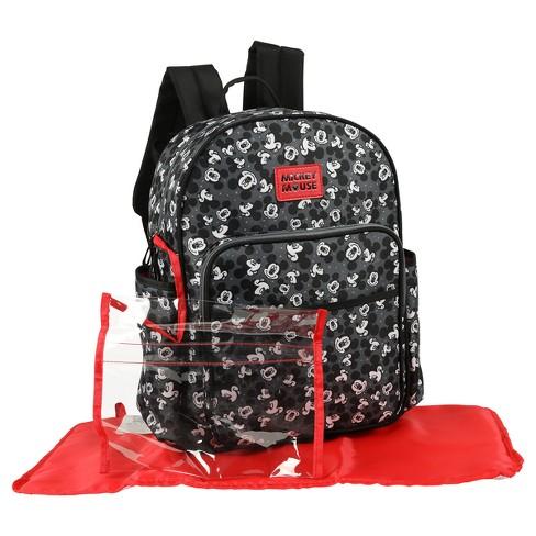 cf591c49703 Disney Mickey Mouse Diaper Bag - Black   Target