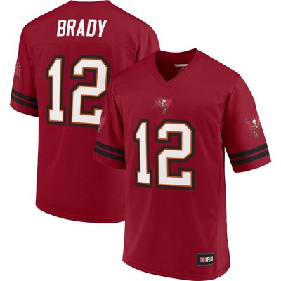 NFL Tampa Bay Buccaneers Men's Tom Brady Rival Goal Line Jersey - L