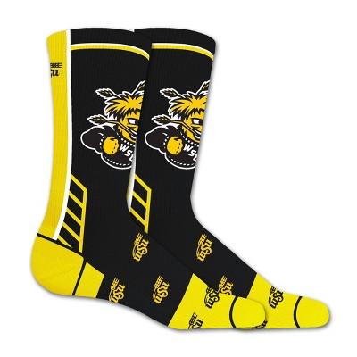 NCAA Wichita State Shockers Tailgate Crew Socks L