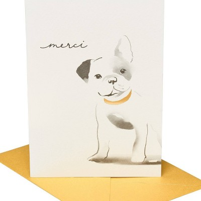 Frenchie Dog Print Card - PAPYRUS