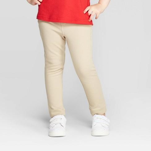 Toddler Girls' Stretchy Ponte Uniform Jeggings - Cat & Jack™ - image 1 of 3
