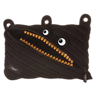 Monster Pencil Case Black - ZIPIT