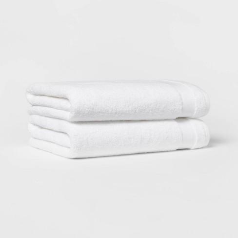 2pk Bath Towel Set - Made By Design™ - image 1 of 4