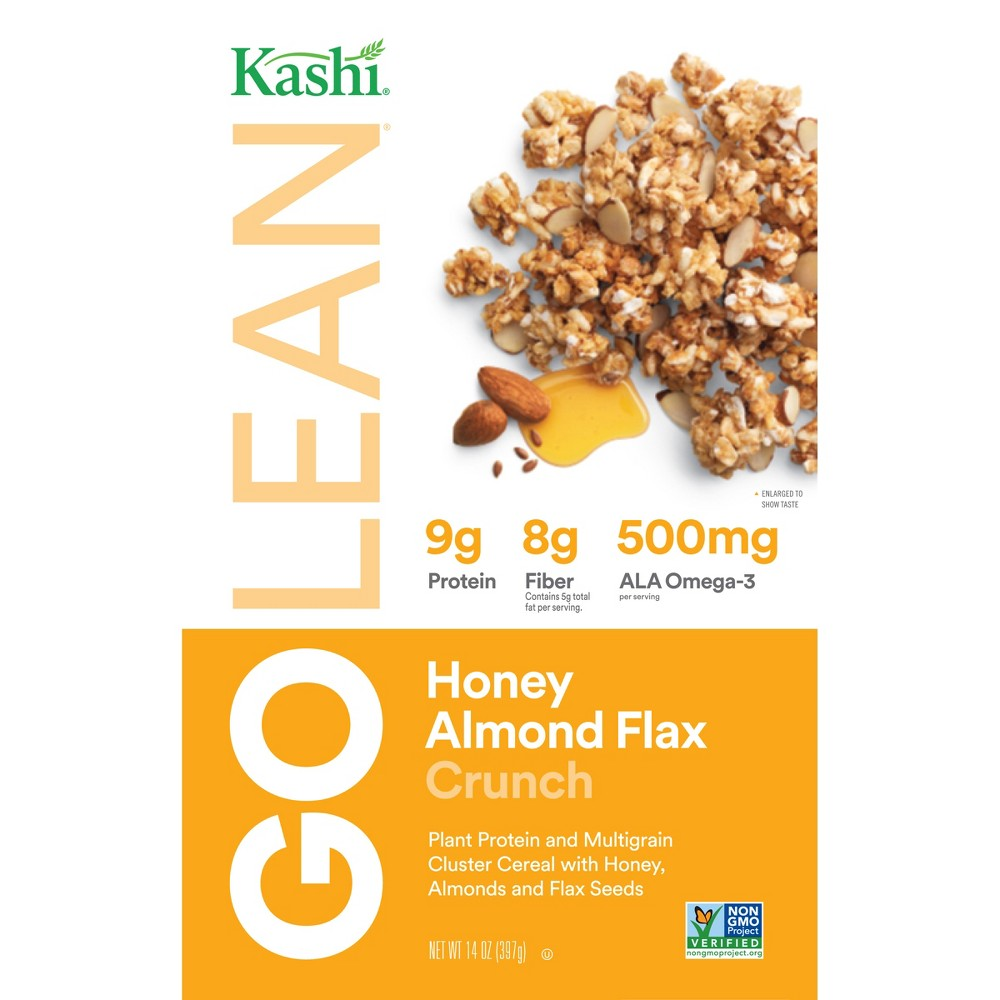 Kashi GO Honey Almond Flax Crunch Cereal 4-Pack Now $6.37