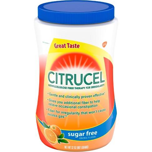 Citrucel Sugar Free Fiber Therapy Powder - Orange - 32oz - image 1 of 4