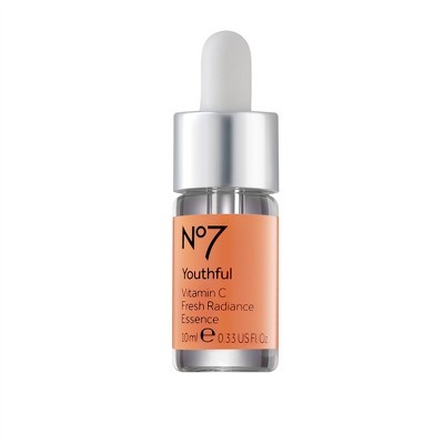 No7 Youthful Vitamin C Fresh Radiance Essence - 0.33 fl oz