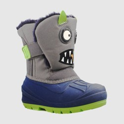 Toddler Boys' Huxley Monster Winter Boots - Cat & Jack™ Gray