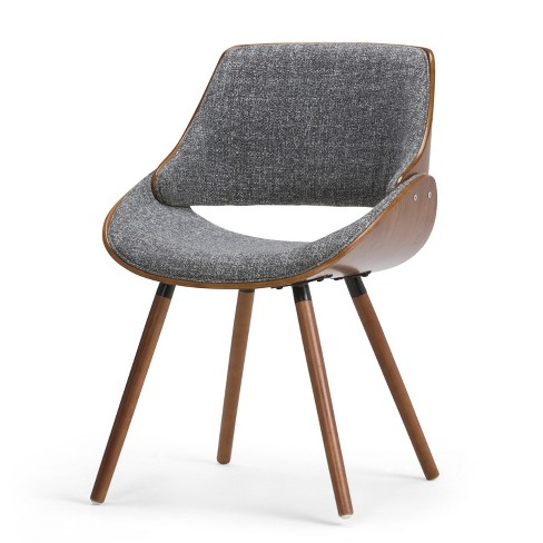 Magnificent Malone Bentwood Dining Chair Gray Natural Woven Fabric Wyndenhall Gmtry Best Dining Table And Chair Ideas Images Gmtryco