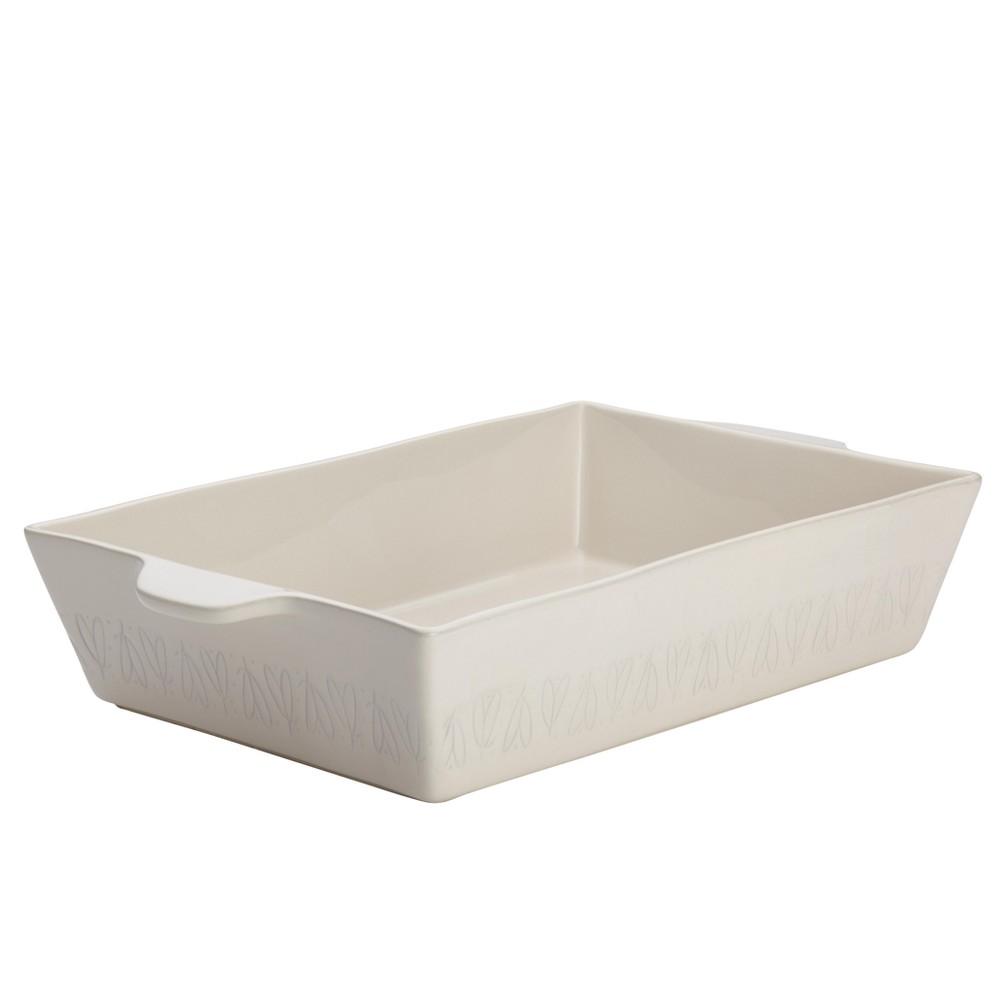 """Image of """"Ayesha Curry 9""""""""x13"""""""" Ceramic Baking Dish, French White"""""""