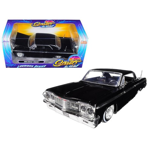 "1964 Chevrolet Impala Black ""Lowrider Series"" Street Low 1/24 Diecast Model Car by Jada - image 1 of 1"
