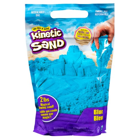 Kinetic Sand 2lb Blue Kinetic Sand for Mixing Molding and Creating - image 1 of 3