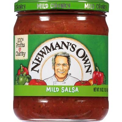 Newman's Own Mild Chunky Salsa - 16oz