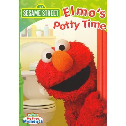 Sesame Street Elmo S Potty Time Dvd Video