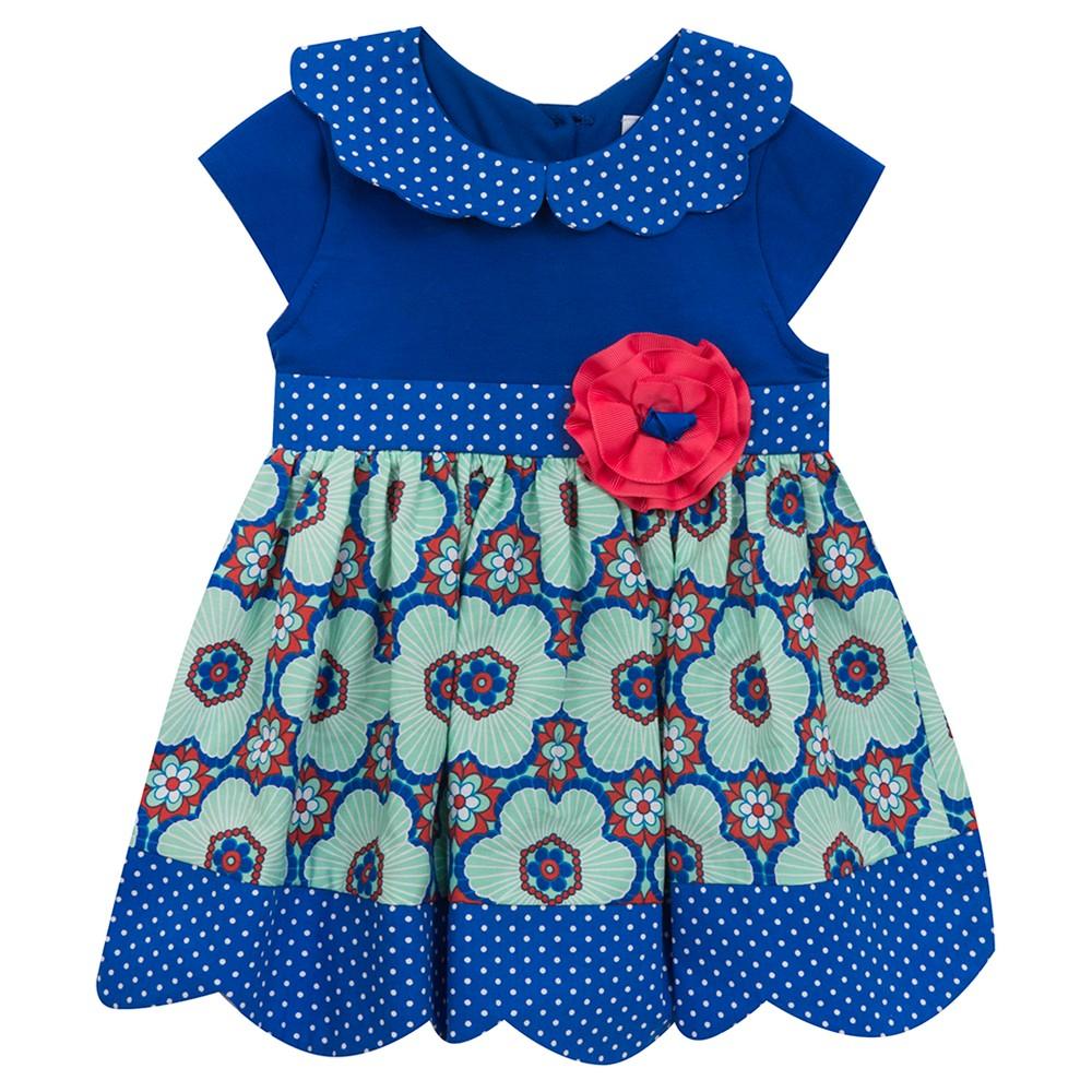 Rare, Too! Baby Girls' Knit Skirt - Royal Blue 18M