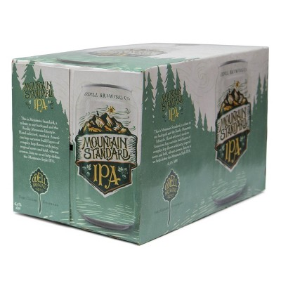 Odell Brewing Mountain Standard IPA Beer - 6pk/12 fl oz Cans