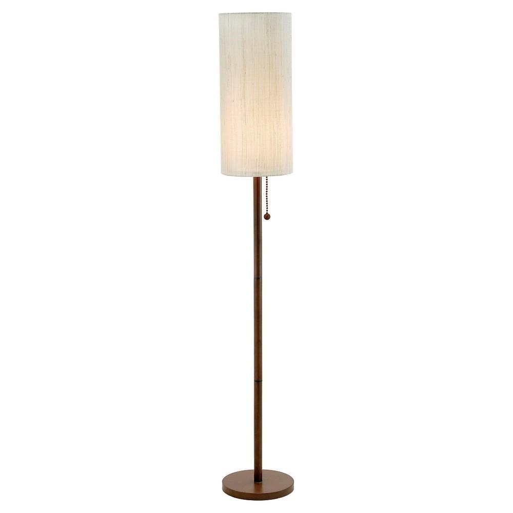 Image of Adesso Hamptons Floor Lamp - Natural