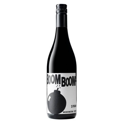 Boom Boom! Syrah Red Wine by Charles Smith - 750ml Bottle