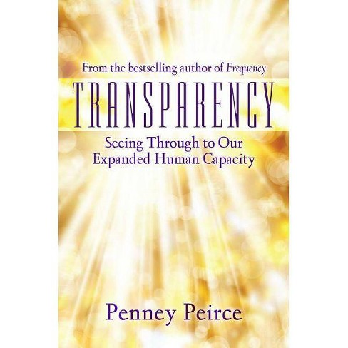 Transparency - by  Penney Peirce (Hardcover) - image 1 of 1