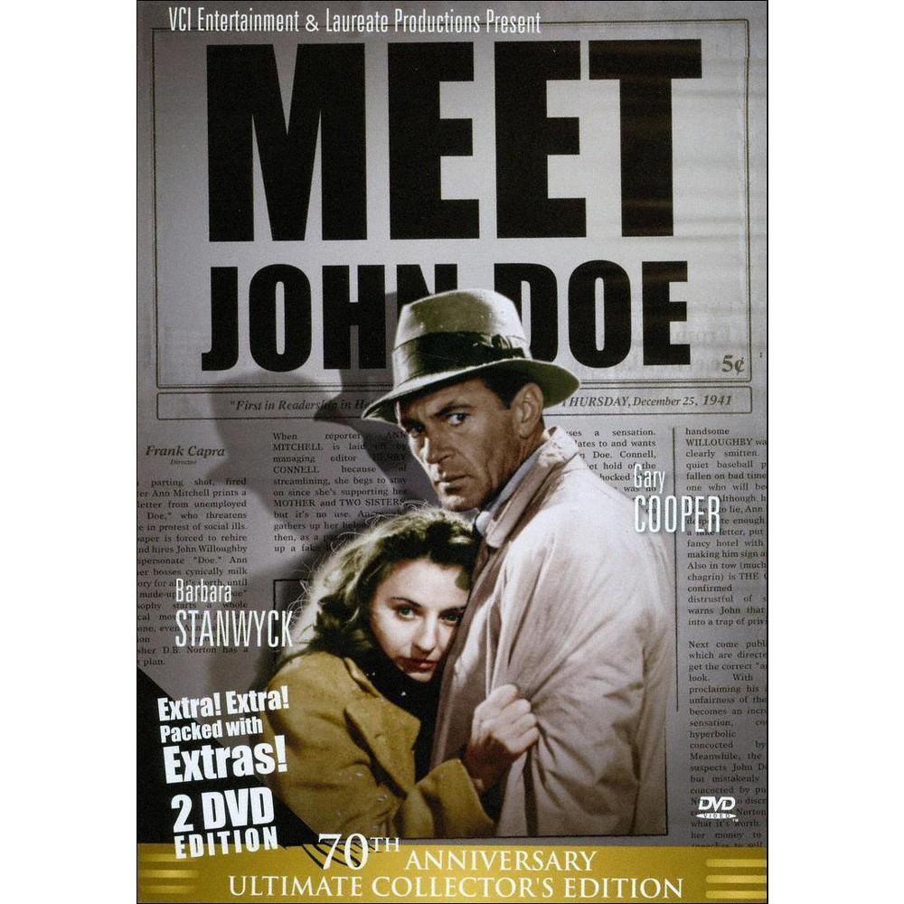 Meet John Doe 70th Anniversary Ultima (Dvd)