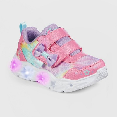 Toddler Girls' S Sport by Skechers Haylen Light-Up Apparel Sneakers - Pink