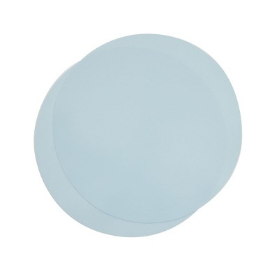 Juvale 2 Pack Silicone Microwave Mats, Light Blue Kitchen Pot Holders, 11.75 In Round Trivets