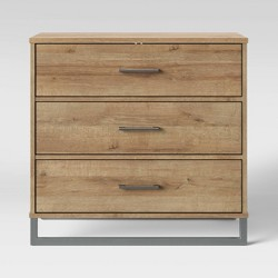 Mixed Material 3 Drawer Dresser - Room Essentials™