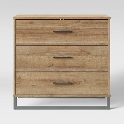 Mixed Material 3 Drawer Dresser - Room Essentials™ - image 1 of 2