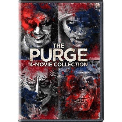 The Purge: 4-Movie Collection (DVD)