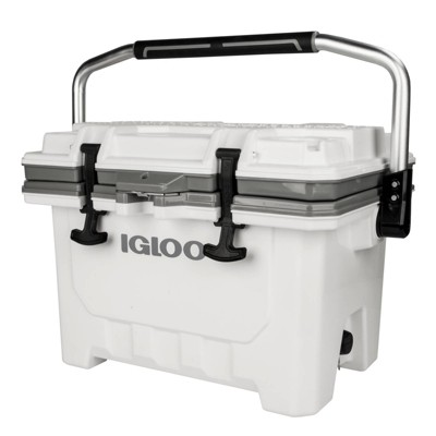 Igloo IMX Hard Sided 24qt Portable Cooler - White