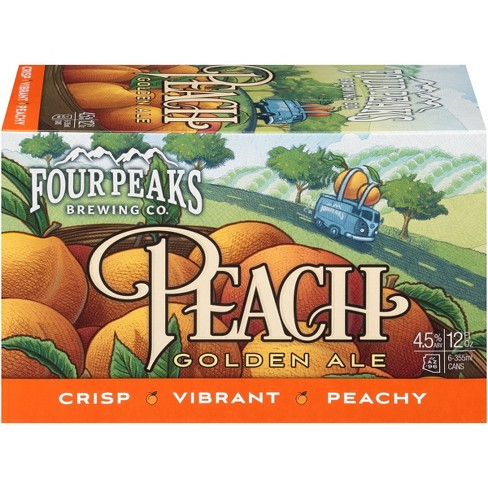 Four Peaks Peach Golden Ale Beer - 6pk/12 fl oz Cans - image 1 of 1