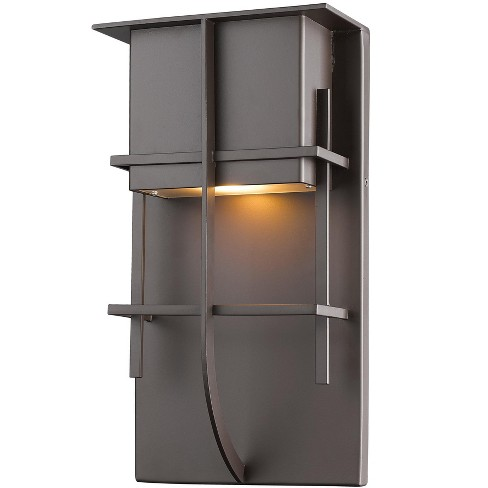 """Z-Lite 558B-LED Stillwater 19"""" Tall Integrated 2700K LED Outdoor Wall Sconce - image 1 of 1"""