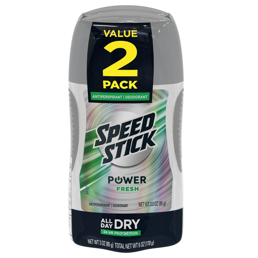 Image of Speed Stick Power Fresh Antiperspirant/Deodorant - 3oz/2pk