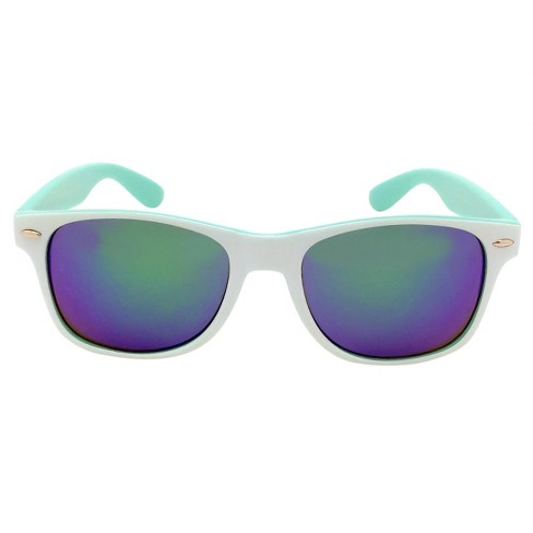 Women's Surfer Shade Sunglasses - Wild Fable™ White - image 1 of 2