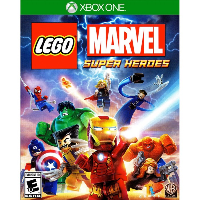 LEGO Marvel Super Heroes PRE-OWNED - Xbox One - image 1 of 1