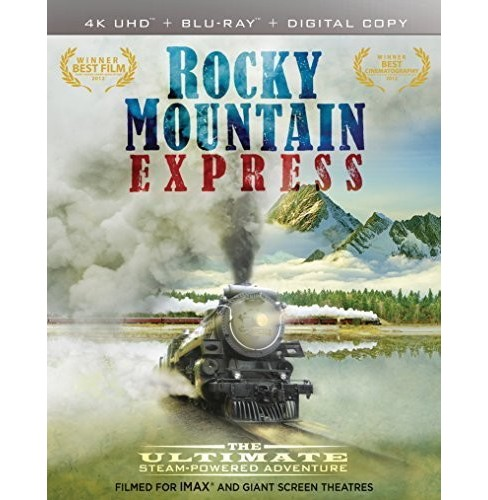 Imax:Rocky Mountain Express 3d (4K/UHD) - image 1 of 1