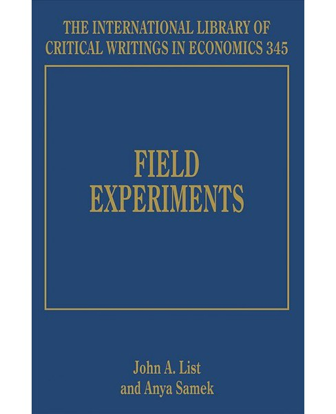 Field Experiments -  (Hardcover) - image 1 of 1