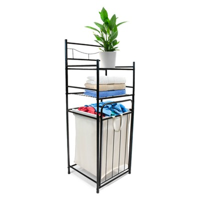 Sorbus Bathroom Tower with Hamper