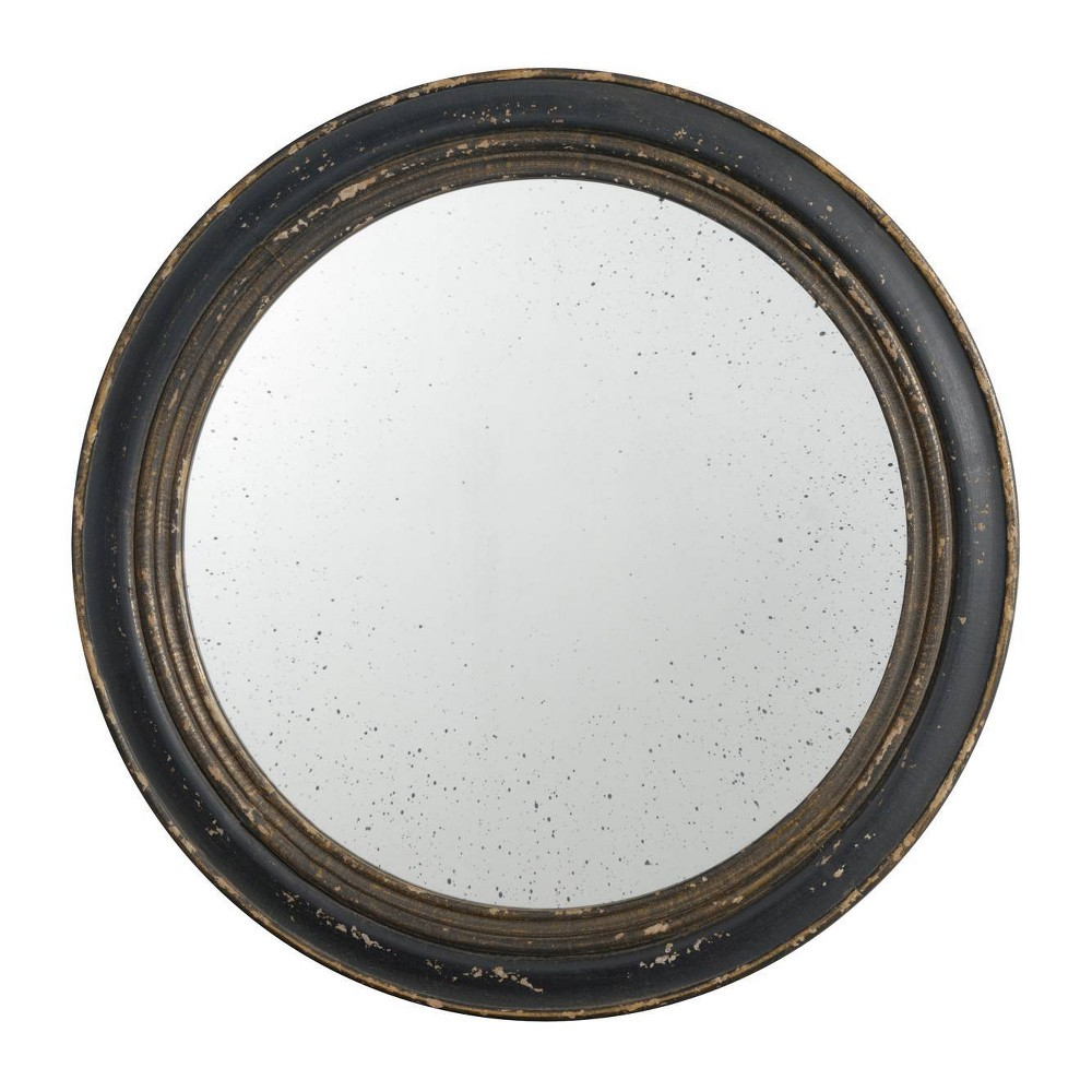 "Image of ""23.5"""" Mirror Distressed Black - A&B Home"""