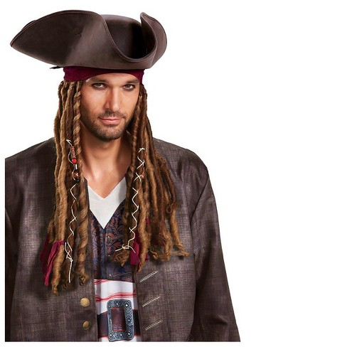 Adult Pirates of the Caribbean Captain Jack Sparrow Accessory Kit - image 1 of 1