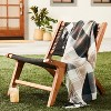 Outdoor Fall Tartan Plaid Fringe Throw Blanket - Hearth & Hand™ with Magnolia - image 2 of 4