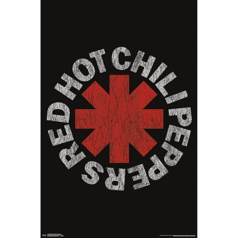 """34""""x23"""" Red Hot Chili Peppers Vintage Logo Unframed Wall Poster Print - Trends International - image 1 of 2"""