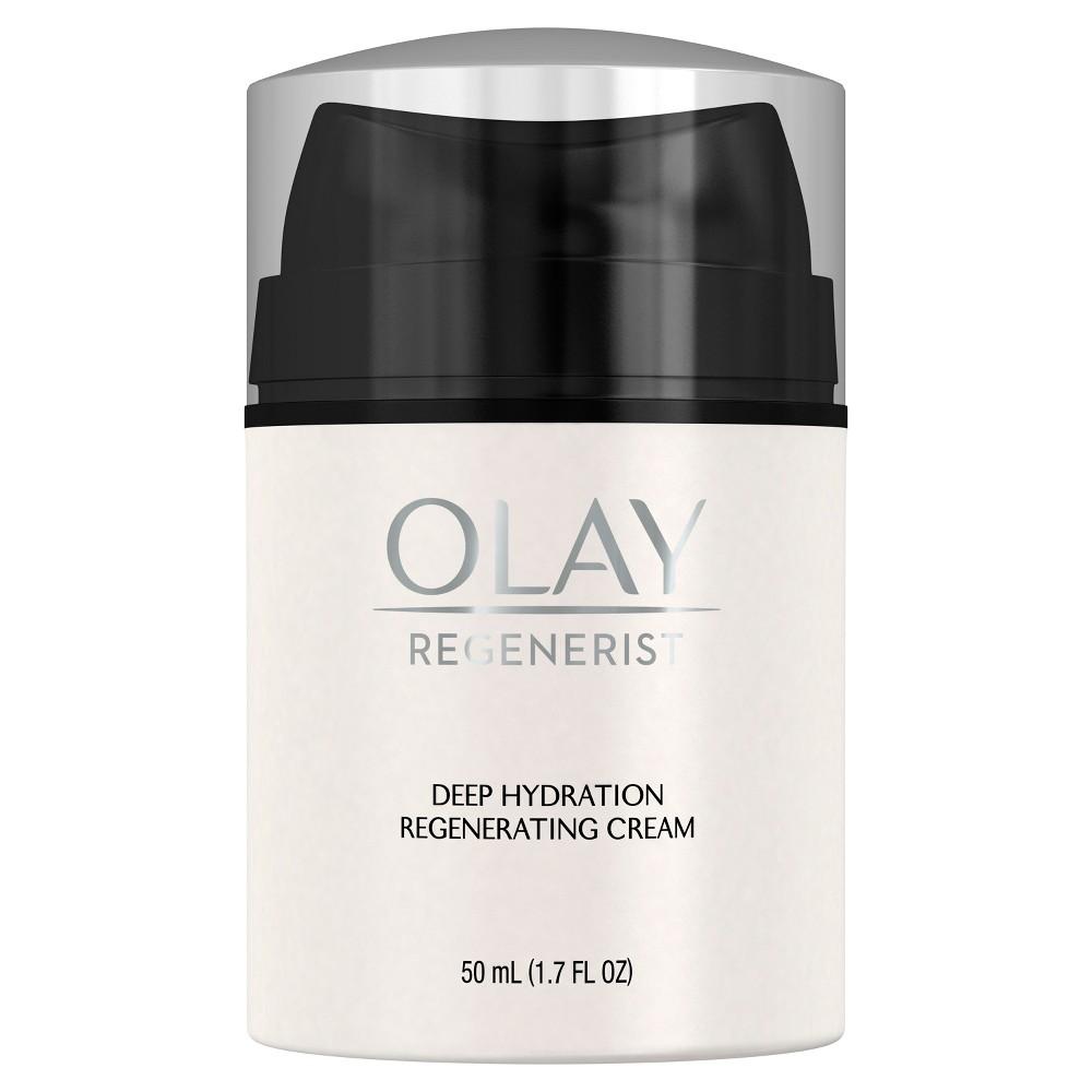 Olay Regenerist Deep Hydration Regenerating Cream Face Moisturizer 1 7 Fl Oz