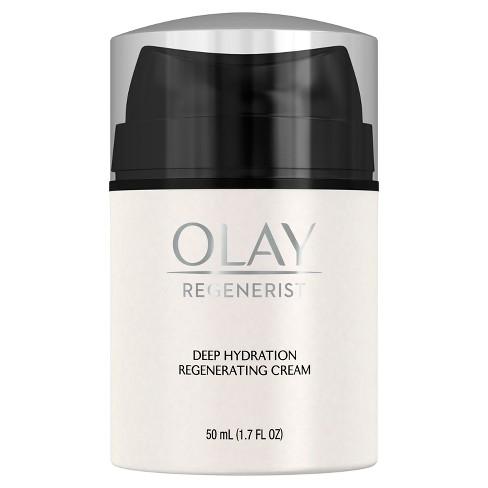 Olay Regenerist Deep Hydration Regenerating Cream Face Moisturizer 1.7 Fl Oz - image 1 of 3