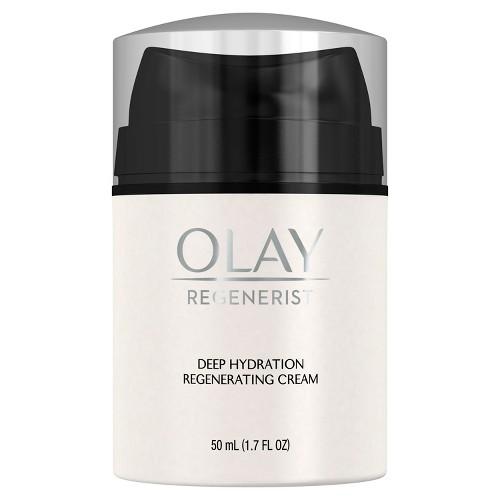 Olay Regenerist Deep Hydration Regenerating Cream Face Moisturizer 1.7 Fl Oz