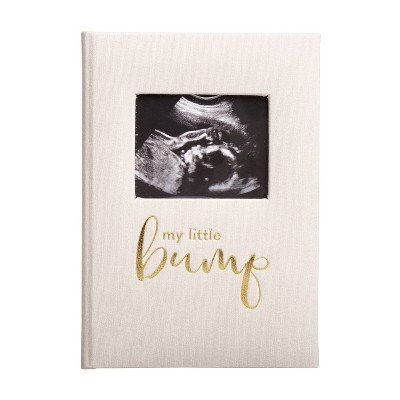 Pearhead Linen Pregnancy Journal - Ivory