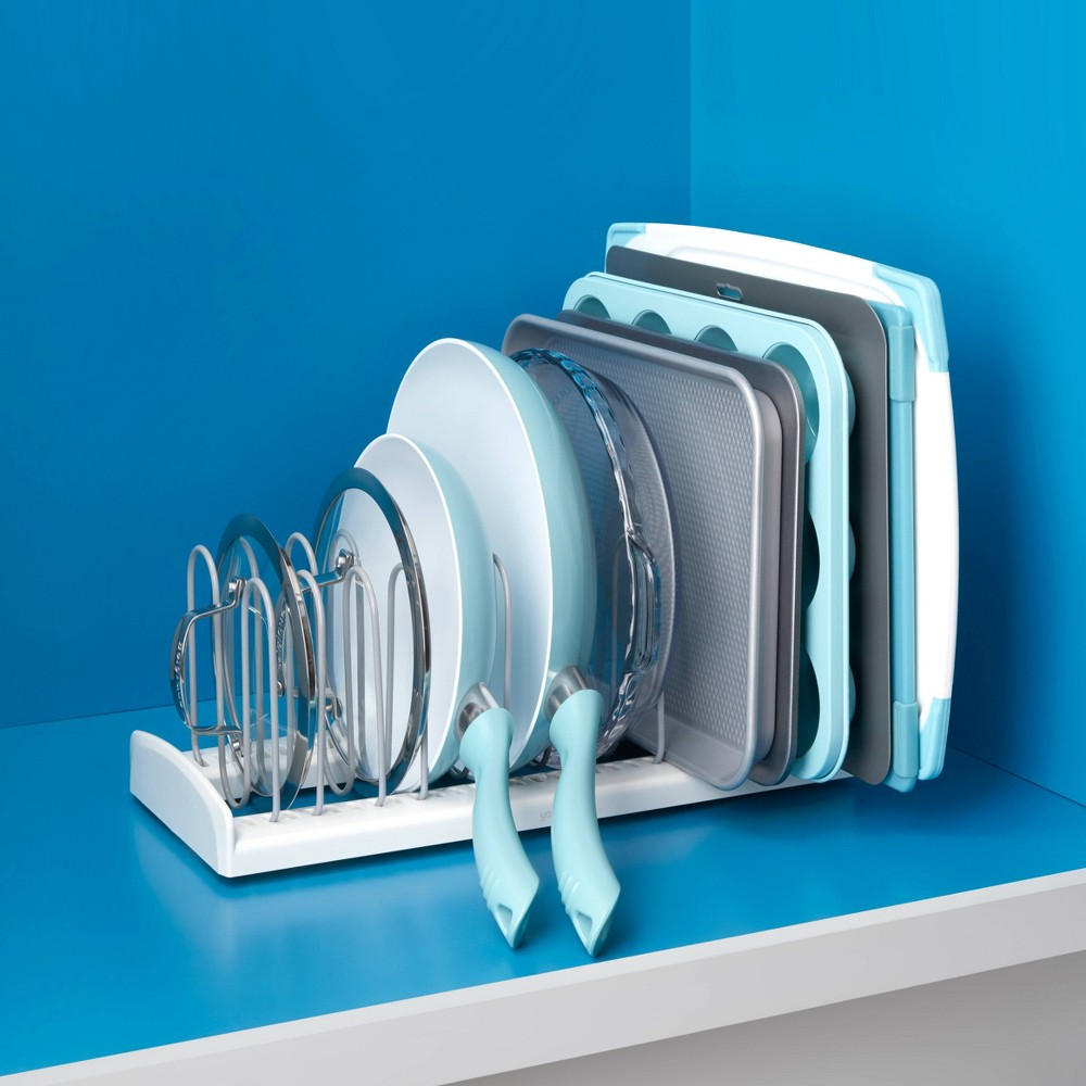 """Image of """"YouCopia StoreMore 16"""""""" Pan & Lid Rack"""""""