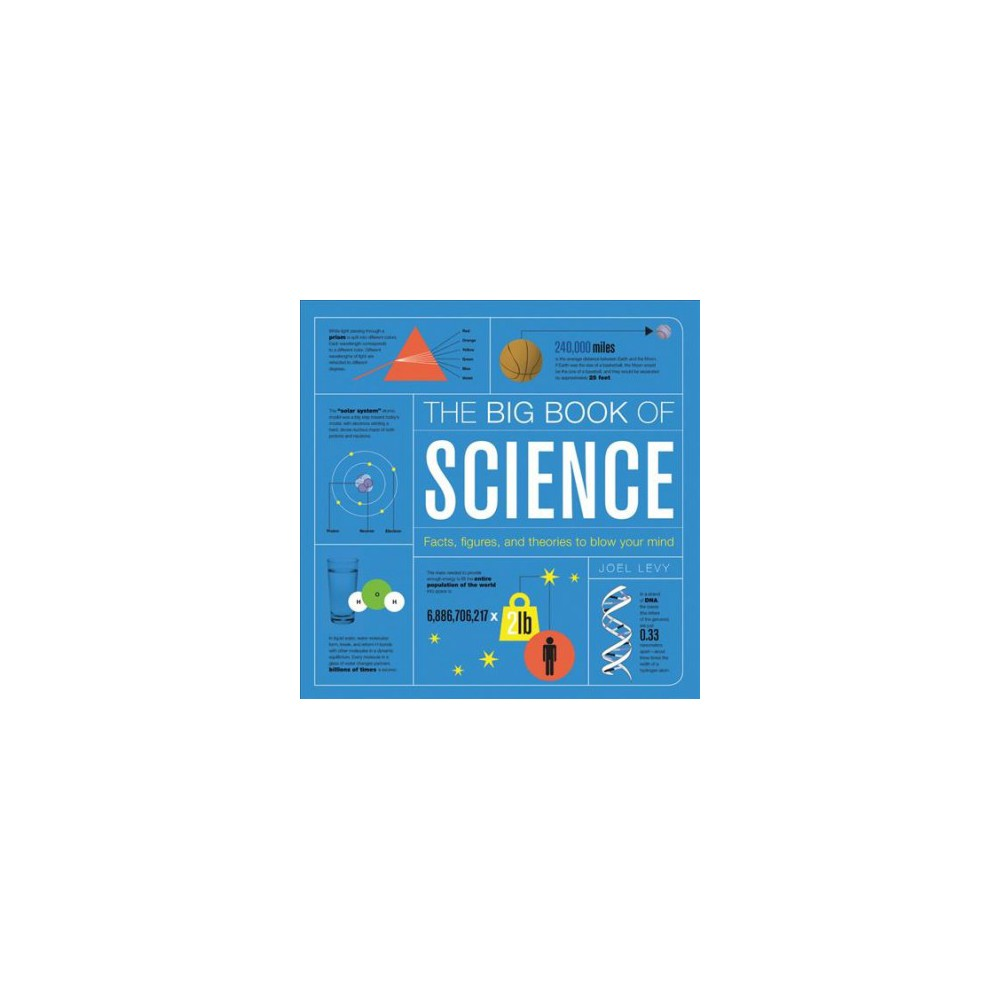 Big Book of Science : Facts, Figures, and Theories to Blow Your Mind - by Joel Levy (Hardcover)